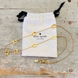 ♥️ Kate Spade ♥️ Gold Necklace